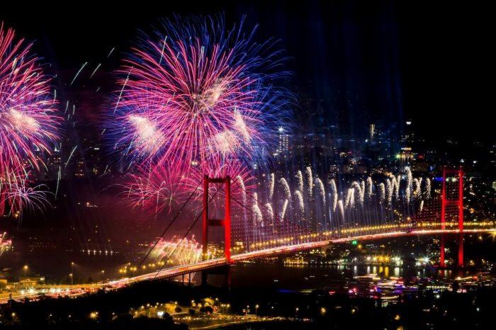 Зустріч Нового року у Стамбулі