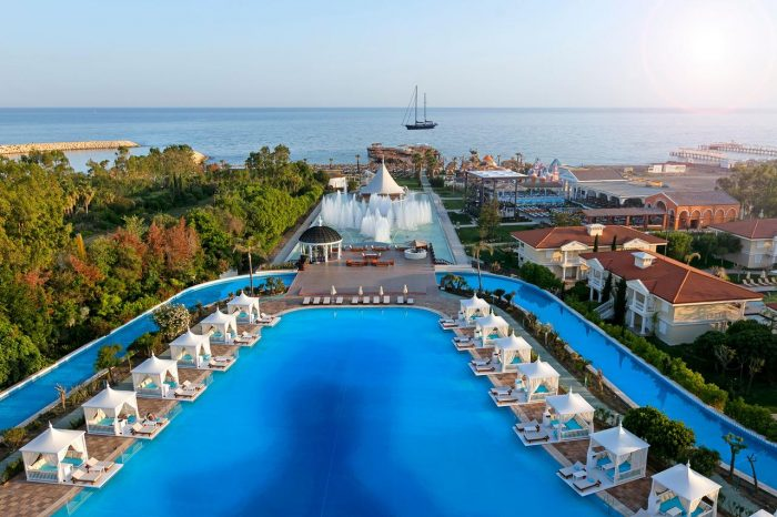 Розкішний відпочинок в Туреччині